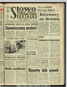 Słowo Ludu : dziennik Polskiej Zjednoczonej Partii Robotniczej, 1990 R.XLI, nr 90 (magazyn środowy)