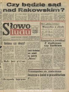 Słowo Ludu : dziennik Polskiej Zjednoczonej Partii Robotniczej, 1990 R.XLI, nr 171 (radomskie pismo codzienne)