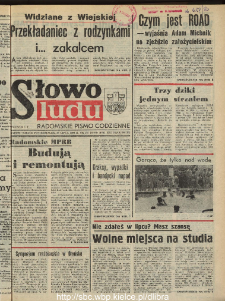 Słowo Ludu : dziennik Polskiej Zjednoczonej Partii Robotniczej, 1990 R.XLI, nr 175 (radomskie pismo codzienne)