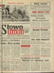 Słowo Ludu : dziennik Polskiej Zjednoczonej Partii Robotniczej, 1990 R.XLI, nr 204 (radomskie pismo codzienne)