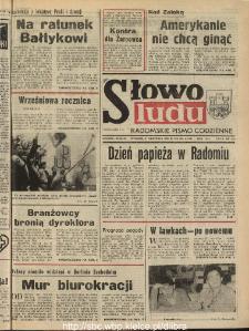 Słowo Ludu : dziennik Polskiej Zjednoczonej Partii Robotniczej, 1990 R.XLI, nr 205 (radomskie pismo codzienne)