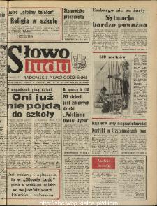 Słowo Ludu : dziennik Polskiej Zjednoczonej Partii Robotniczej, 1990 R.XLI, nr 206 (radomskie pismo codzienne)