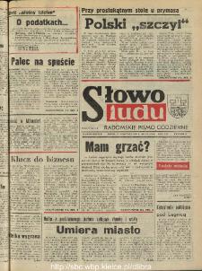 Słowo Ludu : dziennik Polskiej Zjednoczonej Partii Robotniczej, 1990 R.XLI, nr 218 (radomskie pismo codzienne)