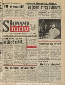 Słowo Ludu : dziennik Polskiej Zjednoczonej Partii Robotniczej, 1990 R.XLI, nr 219 (radomskie pismo codzienne)