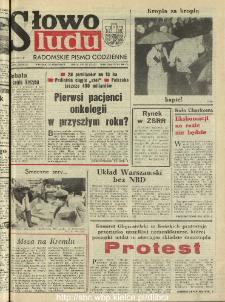 Słowo Ludu : dziennik Polskiej Zjednoczonej Partii Robotniczej, 1990 R.XLI, nr 223 (radomskie pismo codzienne)