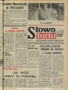 Słowo Ludu : dziennik Polskiej Zjednoczonej Partii Robotniczej, 1990 R.XLI, nr 224 (radomskie pismo codzienne)