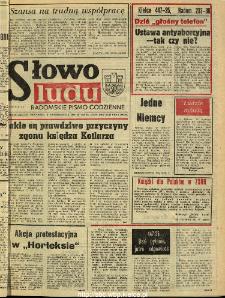 Słowo Ludu : dziennik Polskiej Zjednoczonej Partii Robotniczej, 1990 R.XLI, nr 231 (radomskie pismo codzienne)