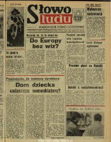 Słowo Ludu : dziennik Polskiej Zjednoczonej Partii Robotniczej, 1990 R.XLI, nr 248 (radomskie pismo codzienne)
