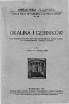 Okalina i Czerników : opis porównawczy dwu wsi pow. opatowskiego, jednej z gruntami w szachownicy i drugiej scalonej