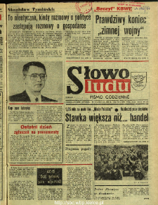 Słowo Ludu : dziennik Polskiej Zjednoczonej Partii Robotniczej, 1990 R.XLI, nr 270