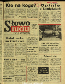 Słowo Ludu : dziennik Polskiej Zjednoczonej Partii Robotniczej, 1990 R.XLI, nr 272