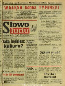 Słowo Ludu : dziennik Polskiej Zjednoczonej Partii Robotniczej, 1990 R.XLI, nr 276 (radomskie pismo codzienne)