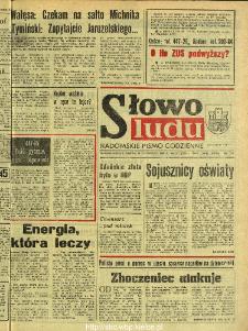Słowo Ludu : dziennik Polskiej Zjednoczonej Partii Robotniczej, 1990 R.XLI, nr 277 (radomskie pismo codzienne)