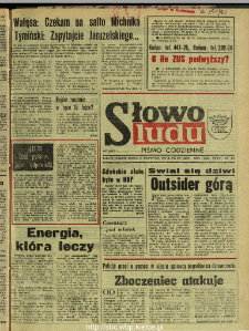 Słowo Ludu : dziennik Polskiej Zjednoczonej Partii Robotniczej, 1990 R.XLI, nr 277