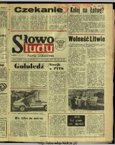 Słowo Ludu : dziennik Polskiej Zjednoczonej Partii Robotniczej, 1991 R.XLII, nr 13