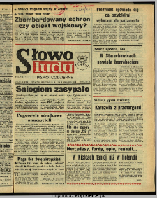 Słowo Ludu : dziennik Polskiej Zjednoczonej Partii Robotniczej, 1991 R.XLII, nr 38
