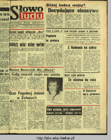 Słowo Ludu : dziennik Polskiej Zjednoczonej Partii Robotniczej, 1991 R.XLII, nr 47 (radomskie pismo codzienne)