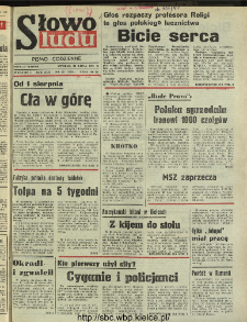 Słowo Ludu : dziennik Polskiej Zjednoczonej Partii Robotniczej, 1991 R.XLII, nr 175