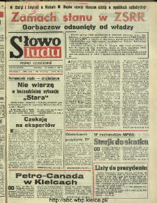 Słowo Ludu : dziennik Polskiej Zjednoczonej Partii Robotniczej, 1991 R.XLII, nr 192