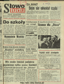 Słowo Ludu : dziennik Polskiej Zjednoczonej Partii Robotniczej, 1991 R.XLII, nr 203