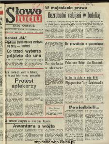 Słowo Ludu : dziennik Polskiej Zjednoczonej Partii Robotniczej, 1991 R.XLII, nr 240