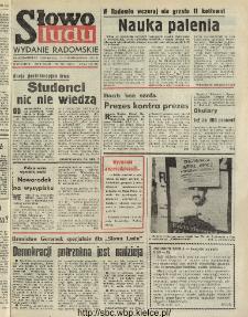 Słowo Ludu : dziennik Polskiej Zjednoczonej Partii Robotniczej, 1991 R.XLII, nr 248 (radomskie pismo codzienne)