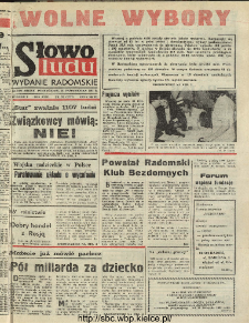 Słowo Ludu : dziennik Polskiej Zjednoczonej Partii Robotniczej, 1991 R.XLII, nr 251 (radomskie pismo codzienne)