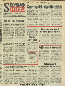 Słowo Ludu : dziennik Polskiej Zjednoczonej Partii Robotniczej, 1991 R.XLII, nr 258 (radomskie pismo codzienne)
