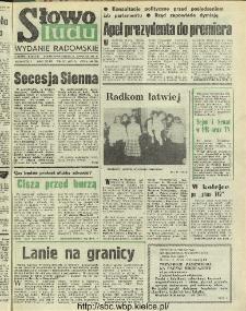 Słowo Ludu : dziennik Polskiej Zjednoczonej Partii Robotniczej, 1991 R.XLII, nr 271 (radomskie pismo codzienne)