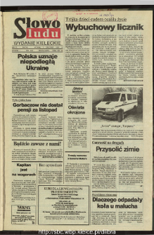 Słowo Ludu : dziennik Polskiej Zjednoczonej Partii Robotniczej, 1991 R.XLII, nr 279