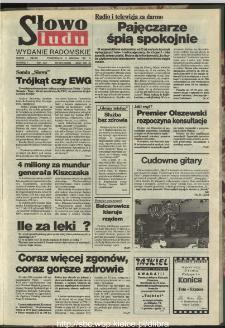 Słowo Ludu : dziennik Polskiej Zjednoczonej Partii Robotniczej, 1991 R.XLII, nr 284 (radomskie pismo codzienne)