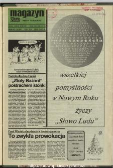 Słowo Ludu : dziennik Polskiej Zjednoczonej Partii Robotniczej, 1991 R.XLII, nr 298 (magazyn)