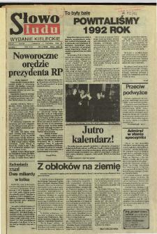 Słowo Ludu,1992 R.XLIII, nr 1