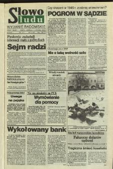 Słowo Ludu,1992 R.XLIII, nr 3 (wydanie radomskie)