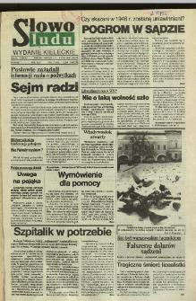 Słowo Ludu,1992 R.XLIII, nr 3