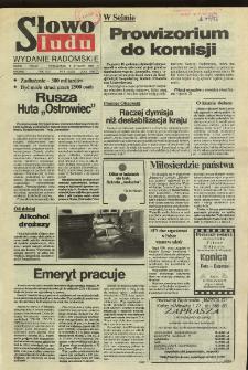 Słowo Ludu,1992 R.XLIII, nr 4 (wydanie radomskie)