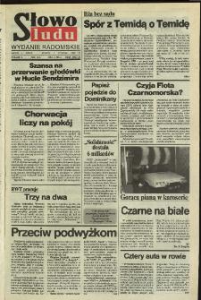 Słowo Ludu,1992 R.XLIII, nr 5 (wydanie radomskie)