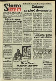 Słowo Ludu,1992 R.XLIII, nr 6 (wydanie radomskie)