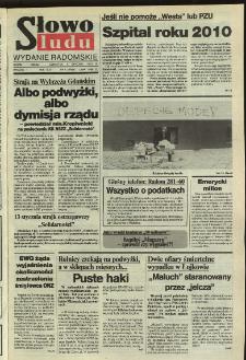 Słowo Ludu,1992 R.XLIII, nr 7 (wydanie radomskie)