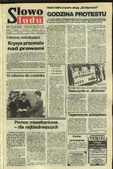 Słowo Ludu,1992 R.XLIII, nr 11 (wydanie radomskie)