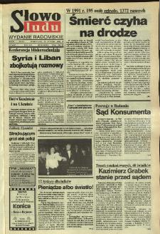 Słowo Ludu,1992 R.XLIII, nr 16 (wydanie radomskie)