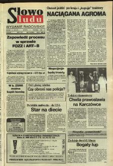 Słowo Ludu,1992 R.XLIII, nr 17 (wydanie radomskie)