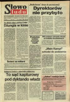 Słowo Ludu,1992 R.XLIII, nr 19 (wydanie radomskie)