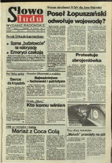 Słowo Ludu,1992 R.XLIII, nr 25 (wydanie radomskie)