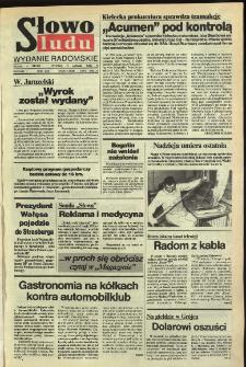 Słowo Ludu,1992 R.XLIII, nr 29 (wydanie radomskie)