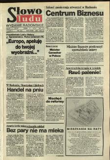 Słowo Ludu,1992 R.XLIII, nr 30 (wydanie radomskie)
