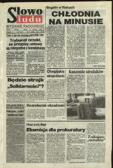 Słowo Ludu,1992 R.XLIII, nr 36 (wydanie radomskie)