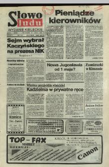 Słowo Ludu,1992 R.XLIII, nr 40