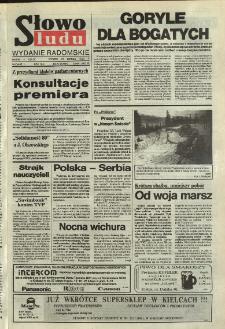 Słowo Ludu,1992 R.XLIII, nr 47 (wydanie radomskie)