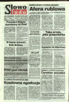 Słowo Ludu,1992 R.XLIII, nr 54 (wydanie radomskie)